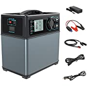 ACOPOWER 400Wh Portable Solar Generator Power Supply Energy Storage Lithium ion Battery Charged by Solar/AC Outlet...