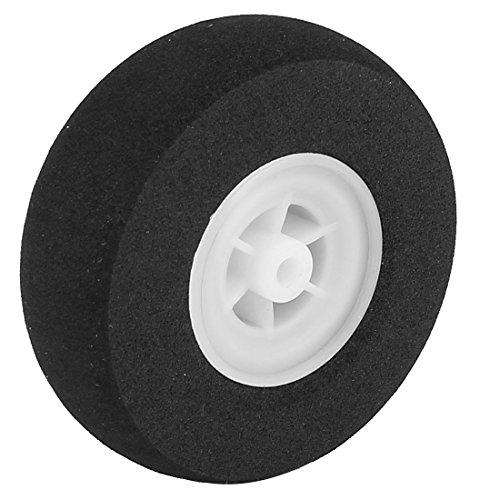 uxcell RC Plane Tail Tire Light-Weight Sponge Wheel Metric Size 65mm Diameter