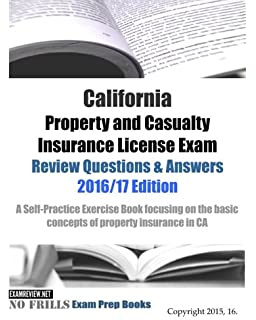 California Life and Health Insurance Agent License Exams Review ...