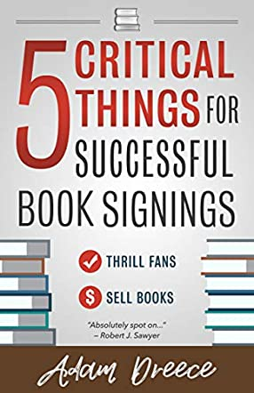 5 Critical Things For a Successful Book Signing