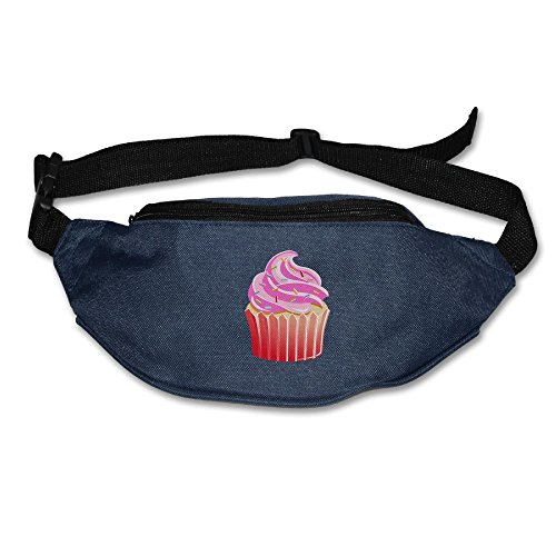 Alone Waist Bag Fanny Pack Cupcake Clipart Unisex Outdoor Sports Pouch Running Belt Fitness Travel Pocket Purse for $<!--$15.99-->