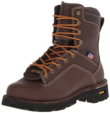 Danner Men's Quarry USA 8-Inch BR Work Boot,Brown,7 D US