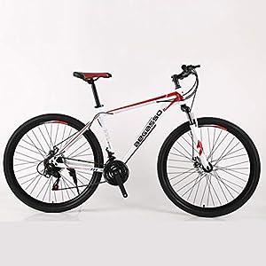 51eVY8KFkcL. SS300 Hmcozy di Mountain Bike Uomini Hardtail Ruote da 29 Pollici Hardtail in Acciaio Alto tenore di Carbonio Mountain Bike,D…