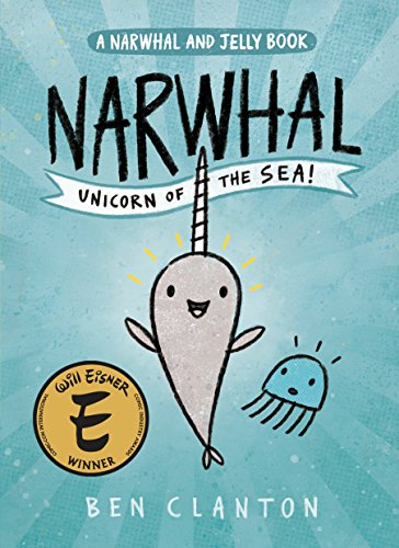 Narwhal: Unicorn of the Sea (A Narwhal and Jelly Book #1) - Sea Graphic
