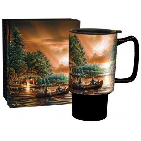 18 Ounce Terry (LANG - 18Oz Ceramic Travel Mug -