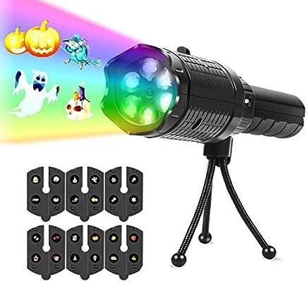 THZY Proyector Luces de la Navidad, Efecto de Luces LED Proyector, para Interiores y Exteriores IP65