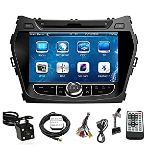 tamyu 8 inch touchscreen monitor car gps. Black Bedroom Furniture Sets. Home Design Ideas