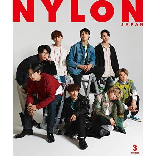 NYLON JAPAN 2021年 3月号 表紙画像