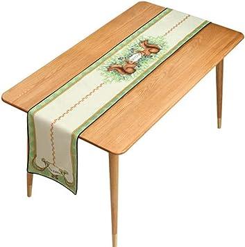 Rotación de la Mesa Table Runner-Tapestry Table Runners Modernos for Bodas Decoraciones for el hogar Tapicería (Size : 30*160cm) : Amazon.es: Juguetes y juegos