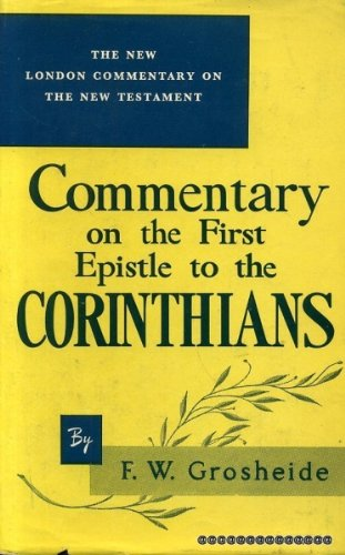an introduction to the history of first corinthians First corinthians 1 is the introduction to one of paul's letter to the city of corinth   however, through history, this is sometimes taken to command infant baptism.