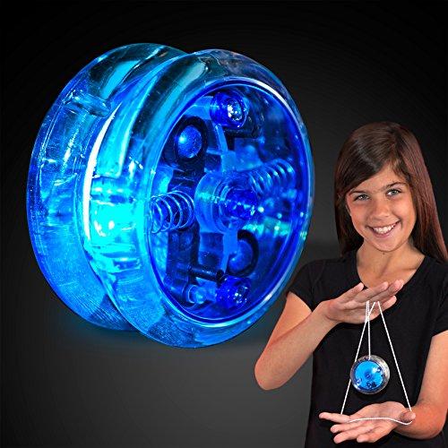 Blue Light Up LED Yo Yo by FlashingBlinkyLights