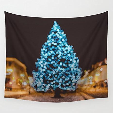 Houseware feliz Navidad regalo patrón algodón colgante de pared colcha tapiz decoración del hogar Gypsy toalla de playa: Amazon.es: Hogar