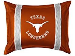 University of Texas Pillow Sham with Jer...