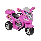 battery barbie car - Kids Ride on Motorcycle 6v Toy Battery Powered Electric 3 Wheel Power Bicycle