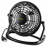 USB FAN - iKross USB Mini Desktop Office Fan with 360 Rotation For