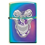 Skull Face Spectrum Custom Zippo Windproof Collectible Lighter. Made in USA Limited Edition & Rare