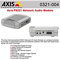 AXIS 0321-004 / P8221 NETWORK INPUT OUTPUT