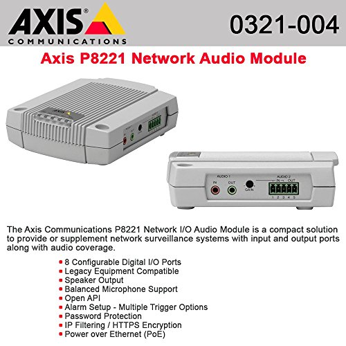 AXIS Communications 0321-004 P8221 Network Input Output Audio ()