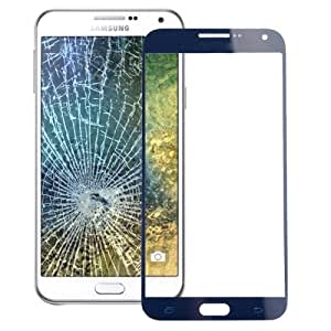 LOPURS Front Screen Outer Glass Lens for Samsung Galaxy E5(Dark Blue)