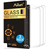 iPhone X Screen Protector,iPhone 10 Screen Protector,[3 Pack] by Ailun,2.5D Edge Tempered Glass for iPhone X/10[5.8inch],Anti-Scratch,Case Friendly,Siania Retail Package