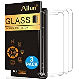 Ailun Screen Protector Compatible iPhone Xs, iPhone X, iPhone 10,[3 Pack],2.5D Edge Tempered Glass Compatible iPhone X/10/Xs[5.8inch],Anti-Scratch,Advanced HD Clarity Work Most Case