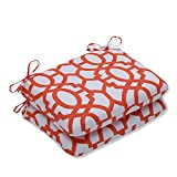 Cheap Pillow Perfect Outdoor/Indoor Nunu Geo Mango Rounded Corners Seat Cushion (Set of 2)