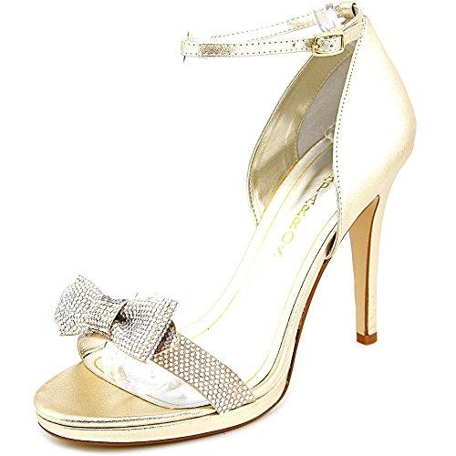 Caparros Womens Zolina Open Toe D-Orsay Pumps Gold Metallic n3j5J