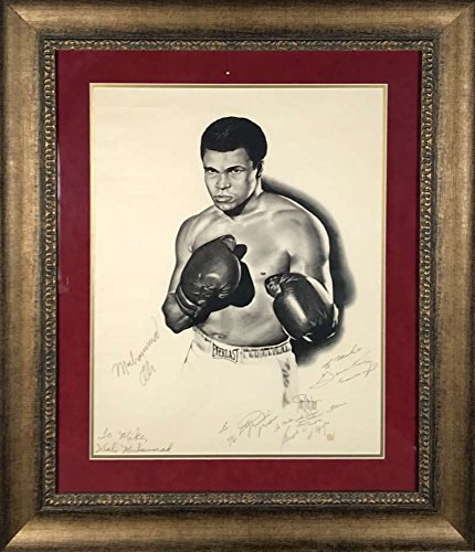 Muhammad Ali Trainers Signed Autographed 1977 16x20 Photo Dundee Wali JSA