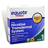 Best Nicotine Patches - Equate - Step 1, Nicotine Transdermal System, Stop Review