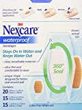 Nexcare Active Extra Cushion Bandage, Assorted Sizes, 30 ct Packages (Pack of 4)