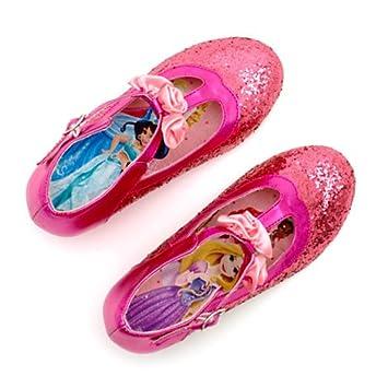 37bf300e8a564 Chaussures formelles de costumes Rose pailletées Princesses Disney - pour  enfants - taille EU 31 -