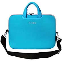 """iColor 12.9"""" 13"""" 13.3"""" Tablet / Laptop Neoprene Sleeve Carrying Case Briefcase Handle Bag Pouch for Apple iPad Pro, MacBook Air / Pro New Retina, Toshiba Chromebook, DELL XPS 13, HP EliteBook 840, Lenovo Yoga 3 Pro"""
