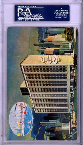 "Muhammad Ali Autographed 3.5x5.5 Postcard""World Champ"" Vintage 1960's Signature #83849604 PSA/DNA Certified"