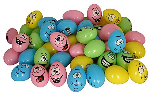 """UPC 762152185904, Club Pack of 864 Silly Faces Pastel Fillable Easter Eggs 2.5"""""""