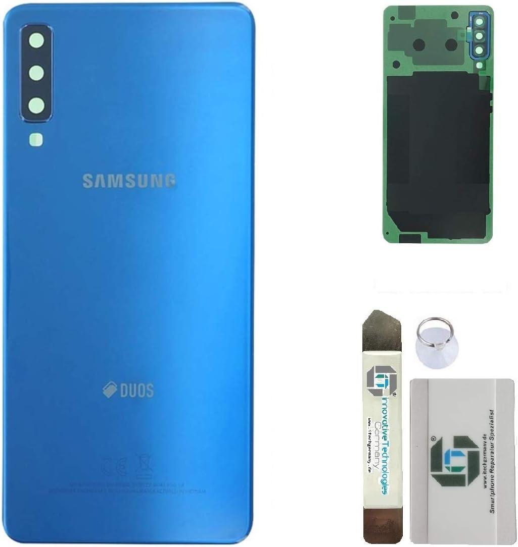 iTG®® - Set de reparación de Tapa de batería Original para Samsung Galaxy A7 (2018): Amazon.es: Electrónica