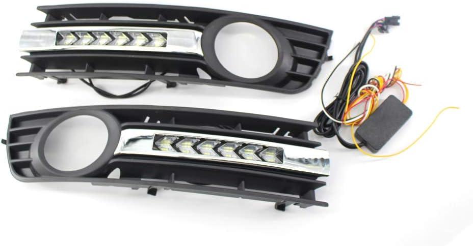 KKmoon Grille de Pare-Chocs Avant pour Audi A4 B6 01-05 Noir