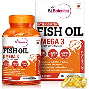 StBotanica Fish Oil Advanced Double Strength With Omega 3
