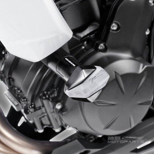Color Negro Puig 6054N Protector Motor