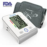 TEC.BEAN Arm Blood Pressure Monitor Irregular Heartbeat & Hypertension Detector by Guard