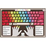 Tot Talk Learn to Type Placemat