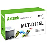 Office Products : Aztech 1 Pack 3,000 Pages Yield Toner cartridge Replaces Samsung MLT-D115L MLTD115L MLT D115L For Samsung Xpress SL-M2620 SL-M2620ND SL-M2820DW SL-M2820ND SL-M2670FN SL-M2670N SL-M2870FD SL-M2870FW