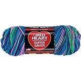 Coats Yarn Red Heart Super Saver Yarn, Bright Mix