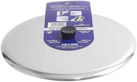 V r - Tapa giratortillas aluminio 30cm