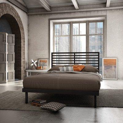 - Amisco Theodore Platform Bed (Queen)