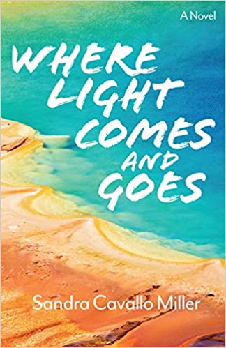 Front cover for the book Where Light Comes and Goes by Sandra Cavallo Miller