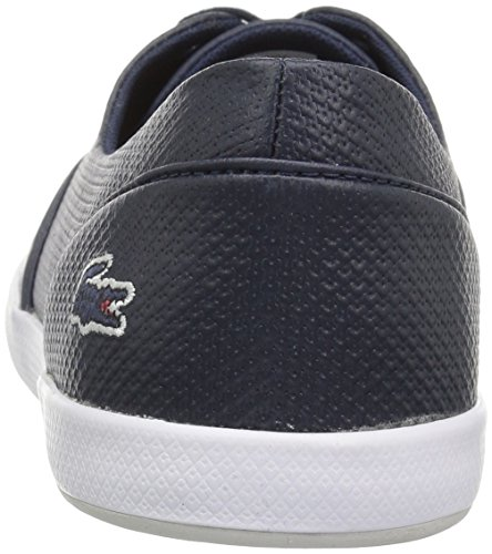 Lacoste 3 Sneakers Da Donna Lacoste In Pelle Nvy / Ltgry