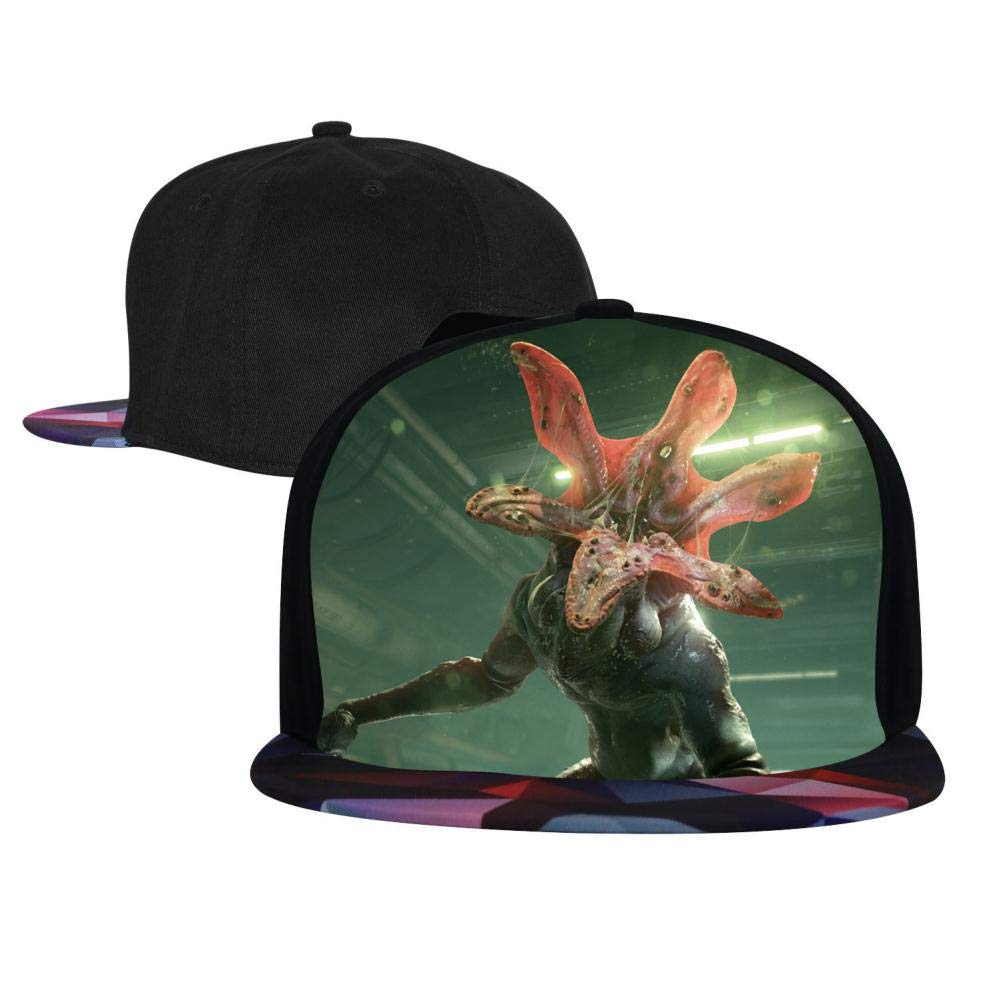 BEKAI Unisex S-tranger Thing-s Demon Adjustable Brimbill Flats Hat for Mens//Womens Hip Hop Caps