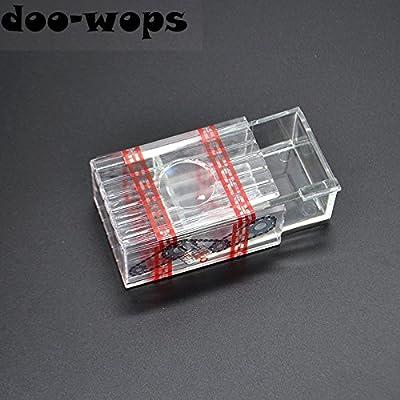 Doowops 1PC Tesoro Transparente Caja mágica Trucos de Magia Cerrar ...