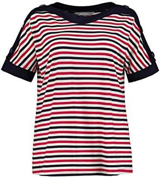 Ulla Popken 727208 koszulka damska, duże rozmiary: Ulla Popken: Odzież