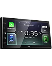 "JVC KW-M745DBT Digital Media Receiver with 6.8"" Display, Apple CarPlay, Android Auto, DAB and Bluetooth"
